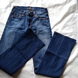 Seven for all mankind jeans , size 27